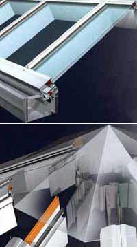 М10800 Skylight Alutherm Cтоечно-ригельная система, предназначенная для возведения вертикальных, наклонных конструкций