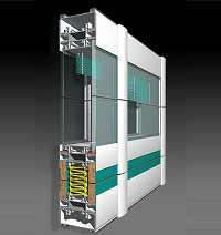 P100 Office для создания высоких и низких внутренних перегородок