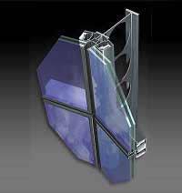 M3 Solar SemiStruktural - современная фасадная система полуструктурного остекления