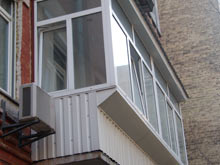 Балконы и лоджии, отделка, остекление, наружная обшивка балк.
