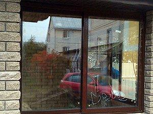 Мангальная. Раздвижные алюминиевые окна. Двухполозник. Глубина конструкции 60 мм..jpg