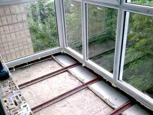 Шаг 2 - витраж от нижней до верхней плиты