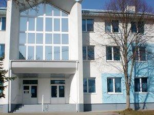 Витраж. Поликлиника г.Вишневое