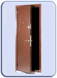 щербинка стальные двери установка