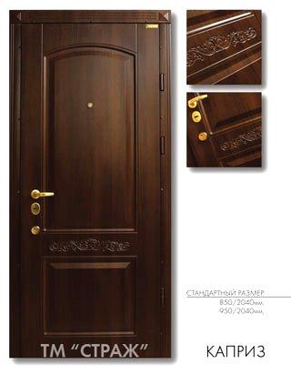 купить входные двери Каприз