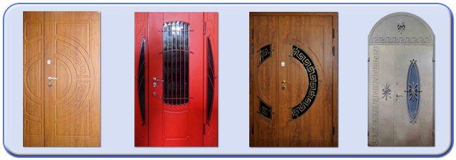 Бронированные двери,выполненные по индивидуальным заказам