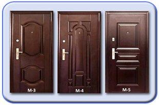 Металлические двери Молоток