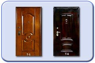 Металлические двери Травление