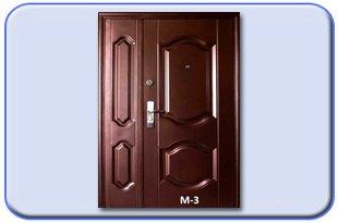 Металлические двери Молоток полуторные