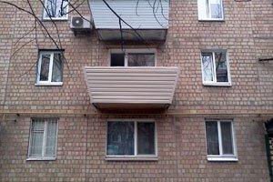 Металло-пластиковые балконы заказать