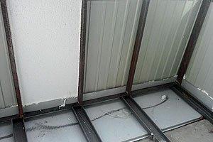 Металло-пластиковые балконы монтаж