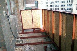 Металло-пластиковые балконы установка
