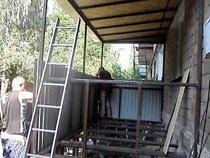 Балкон с нуля (в процессе)