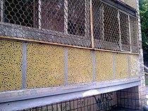 Расширение балкона с утеплением (до начала работы)