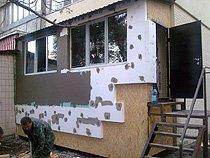 Расширение балкона с утеплением (начинаем утиплять)