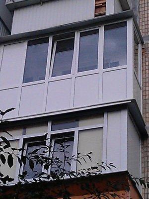 Французский балкон (другой вид)